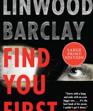 Find You First Linwood Barclay book cover